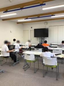 学習の時間の様子