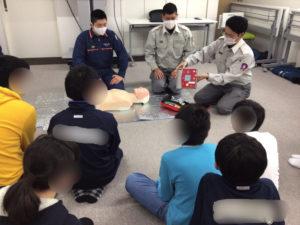 人命救助でつなぐ命 AED編