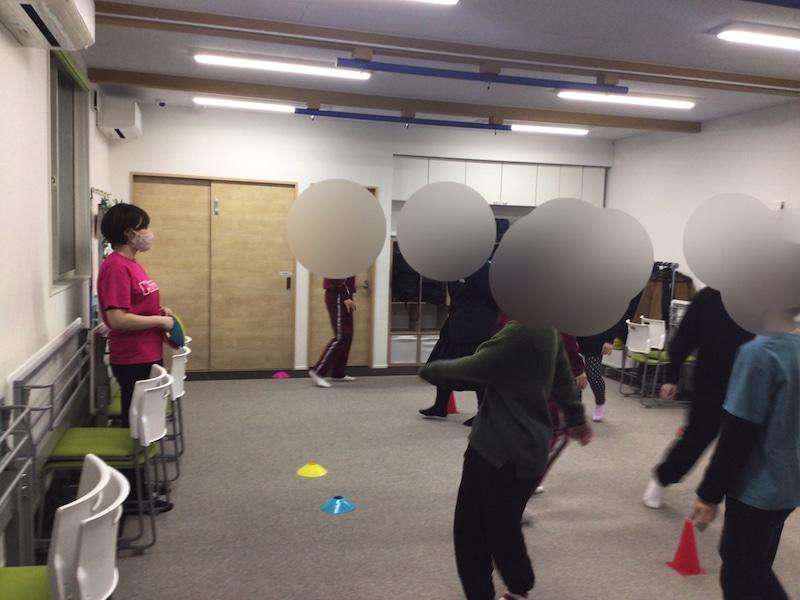 運動でトレーニング!